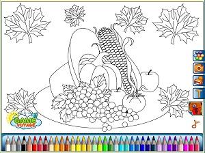 Warzywa - kolorowanki